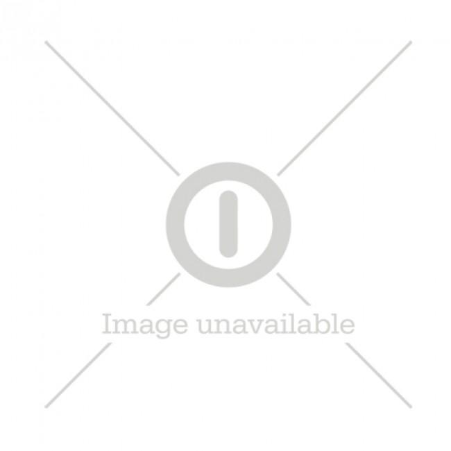 GP Li-ion Chargeur de batteries 18650, 2 canaux, L211, 2 piles 3350 mAh incluses